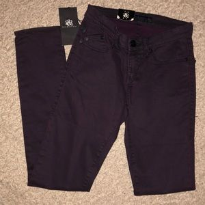 Rock & Republic Prince Jeans Dark Purple Size 2
